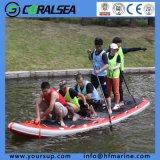 """Prancha material do esporte de água de Airboard (Giant15'4 """")"""