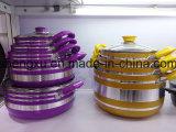 Stockpot сковороды & бака Coated сплава алюминиевый Non-Stick для комплектов Sx-T011 Cookware