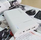 13000mAh power bank portátil de alta capacidade, Mobile Power Pack, banco de alimentação externa com dupla saída USB