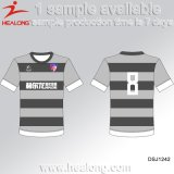Healong dernière conception personnalisée de vêtements de sport impression en sublimation T-Shirt pour hommes