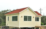Casa moderna prefabricada ligera de la estructura de acero (KXD-V7)