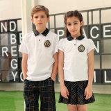 De fabriek paste Goedkoper Elke Katoenen van het Land Eenvormige School aan Van uitstekende kwaliteit