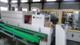 El cartón de papel automático de la garantía global embotella la empaquetadora