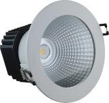 内部か商業照明(LWZ350)のためののための10W LED Downlight