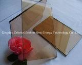 La sûreté/clair/la glace de flotteur a coloré/d'isolation/feuilleté/Inférieur-e pour la glace de construction