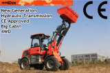 Rops&Fops Cabin를 가진 1 Year Warranty Er15 Front End Loader
