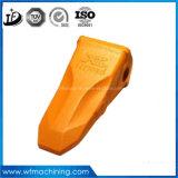 CAT325 del excavador de piezas de la forja del cubo diente de los dientes del cucharón