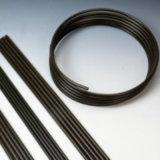 Galfan + PA12 sumergidos calientes cubrieron el tubo doble de Bundy de la pared de 12mm*0.7m m