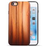 Couverture intelligente de téléphone mobile de configuration en bois de 2017 coutumes pour iPhone7