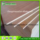 madera contrachapada de Okoume de la talla estándar de 18m m para los muebles