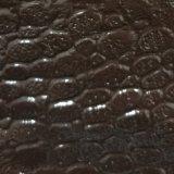 ワニの皮パターンPVCレザーは革PVC革を袋に入れる