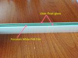 Precio arquitectónico del vidrio laminado PVB de la película blanca de la porcelana