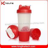 [500مل] بلاستيكيّة بروتين رجّاجة زجاجة مع 1 أرض محصورة وبلاستيك خلّاط كرة ([كل-7024])