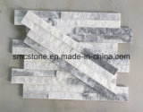 10*40cm 호리호리한 구름 회색 겹쳐 쌓인 문화 돌 Hhsc10X40-006