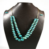 De nieuwe Vastgestelde Halsband van de Juwelen van de Manier van de Parels van de Stenen van het Ontwerp Natuurlijke
