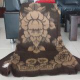 100% Lana de Yak Jacquard Yak Mantas y mantas y mantas de lana de cachemir