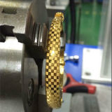 Изготовления продавая тип гарантию пола качества машины маркировки лазера стекловолокна