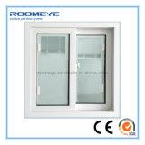 유리 안쪽에 셔터를 가진 Roomeye 2017 고품질 PVC 미끄러지는 Windows