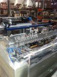 Doppelte Zeilen, welche die Wärme-Ausschnitt-PlastikEinkaufstasche herstellt Maschine heißsiegeln