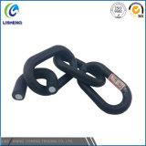 Cadeia de ligação galvanizada revestida de plástico para decoração