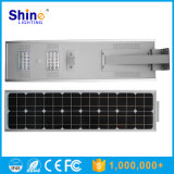 Batería de litio de 30W 40W LED 50W luz de carretera de la energía solar