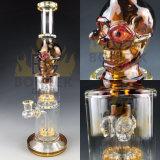 Tubulações de vidro do vidro de Perc do Showerhead da tubulação de água da parte alta do fabricante da tubulação de Bontek
