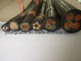 Перечисленный Ce кабель заварки резины обшитый Epr гибкий медный