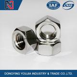 Noix hexagonales en acier au carbone avec haute résistance