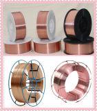 二酸化炭素によって保護される溶接ワイヤEr70-6のソリッドワイヤ