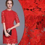 La mode de qualité conçoit le tissu coloré de lacet