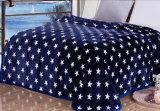 Супер мягкое напечатанное одеяло ватки одеяла фланели напечатанное Sr-B170212-13 Coral