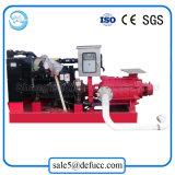 Pompa antincendio centrifuga montata rimorchio di acqua del motore a più stadi del dispositivo di raffreddamento