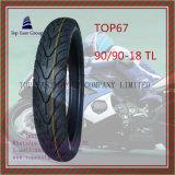 Schlauchloser Motorrad-Reifen des Nylon-6pr mit 90/90-18tl