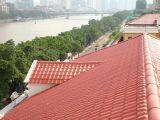Azulejo de azotea material económico de la resina del azulejo de material para techos del color hermoso