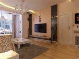 Glas van het van achtergrond TV van het huis het Decoratieve Glas van het Glas van de Muur Binnenlandse Ceramische het schilderen Aangemaakte