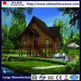 Casa de estrutura de aço com vida feliz