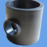 물 공급을%s 개머리판쇠 융해 티 흡진기 HDPE 관 이음쇠