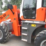 EU3-Approved Engine를 가진 2tons Construction Machinery Front Loader