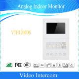Dahua sonnette de la sécurité intérieure d'Interphone vidéo analogique de vidéosurveillance Moniteur (VE1200DS)