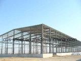 Construção de aço clara para Worshop ou o frame de aço do armazém/luz