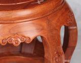 Tamborete de madeira contínuo da sala de visitas (M-X2159)