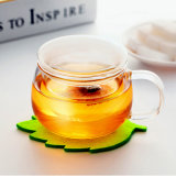 Atacado Handmade Double Wall Glass Coffee Cup (CHT8608)