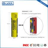 Großhandelsbatterie-Hersteller nachladbare 18650 Li-Ionbatterie für Kasten-MOD