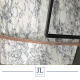 イタリア自然な石造りの大理石のArabescatoの白い平板かタイル