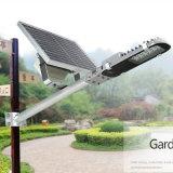 容易な30Wは半統合された太陽照明屋外の庭のヤードの街灯をインストールする