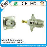 Connecteurs de connecteur coaxial KD1 mini UHF BNC pour connecteur RF