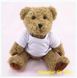 Плюшевый медвежонок плюша с плюшевым медвежонком заполненным тканью