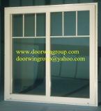 Apertura e Closing semplici e che non richiede sforzo con la finestra di vetro di alluminio di scivolamento di singola e doppia serie del cursore