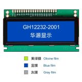 2.0 Polegada 122x32 Módulo LCD gráfico com fundo azul