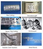precio de fábrica máquina de corte láser de fibra LM3015M3 para tubos de metal